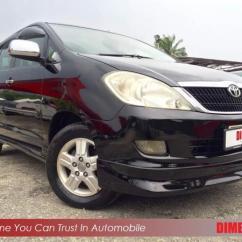 Dimensi All New Kijang Innova Vellfire Interior Toyota 2 0cc A Tahun Dibuat End 1 2018 10 09 Am 2006