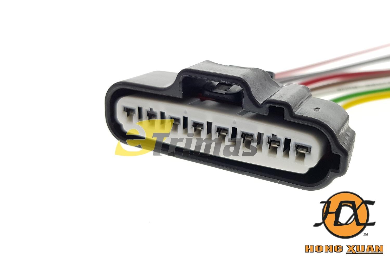hight resolution of toyota vigo hilux lower gear motor harness socket connector