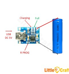 tp4056 single cell 1a li ion battery charger module mini usb [ 945 x 945 Pixel ]