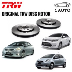 Toyota Yaris Trd Malaysia All New Kijang Innova Semisena Trw Rear Disc Rotor For Vios Ncp93 End 6 23 2021 12 00 Am Ncp150 G S Spec