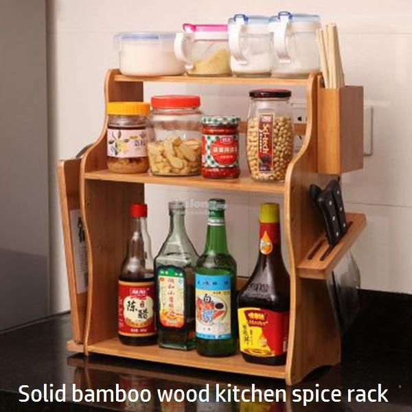 kitchen spice rack hideaway table wooden diy end 5 20 2019 8 17 pm