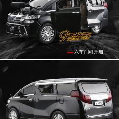 All New Alphard 2019 Kijang Innova G Mt Xlg M9230 Toyota Vellfire End 10 17 5 47 Pm 1 24 Die Cast Model With Light