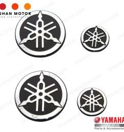 yamaha y15zr emblem silver yamaha hly yamaha genuine parts  [ 2000 x 2000 Pixel ]