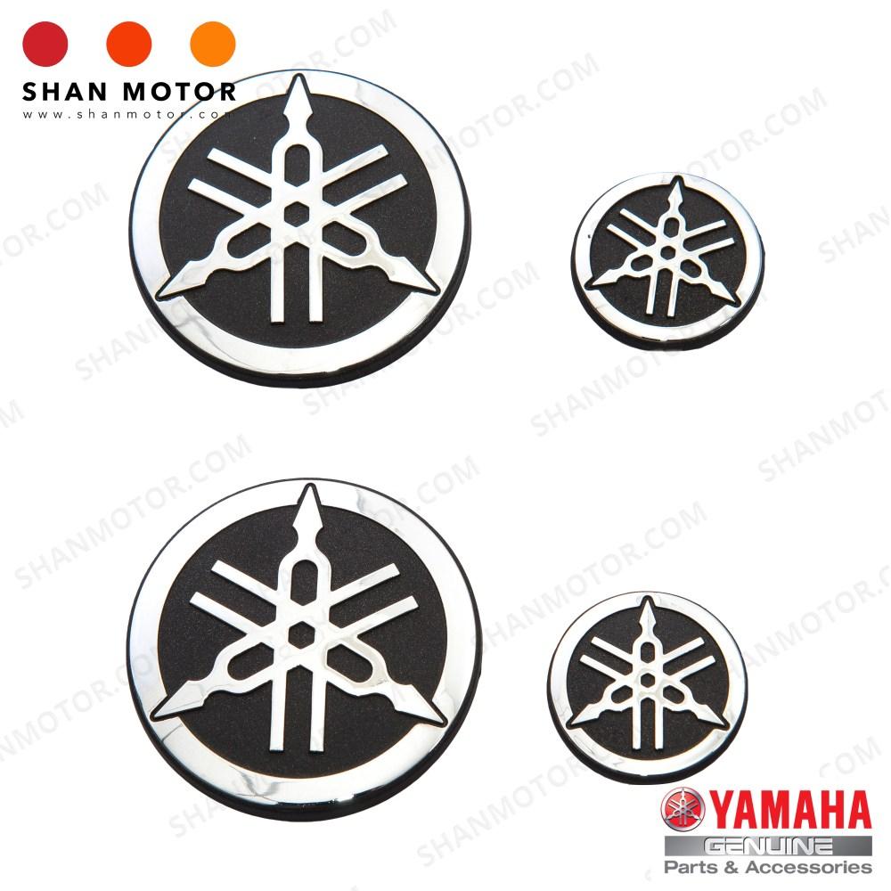 medium resolution of yamaha y15zr emblem silver yamaha hly yamaha genuine parts