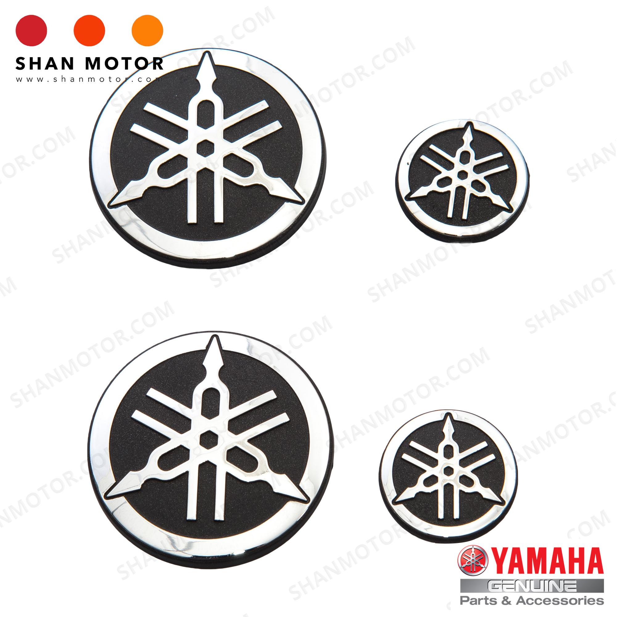 hight resolution of yamaha y15zr emblem silver yamaha hly yamaha genuine parts
