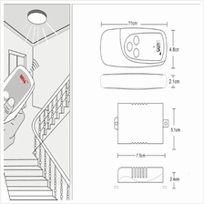 Remote Control Light Socket 12V DC Light Socket Wiring