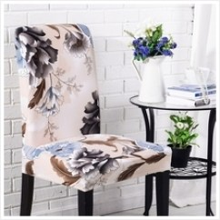 Banquet Chair Covers For Sale Malaysia Giant Folding Dining Cover Price Harga In Room With Printed Pattern Home Party Hotel Wedding Cer