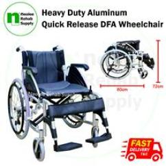 Wheelchair Yang Bagus The Big Chair Dc Price Harga In Malaysia Kerusi Roda Heavy Duty Multi Function Quick Release Aluminum