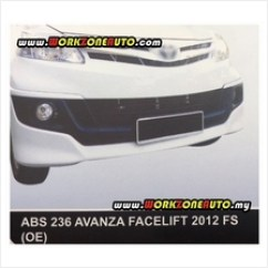 Bodykit Grand New Avanza 2016 All Camry Price Harga In Malaysia Lelong Absf87 Toyota Facelift 2012 Oe Abs Fullset Abs236 Abs237 Abs23