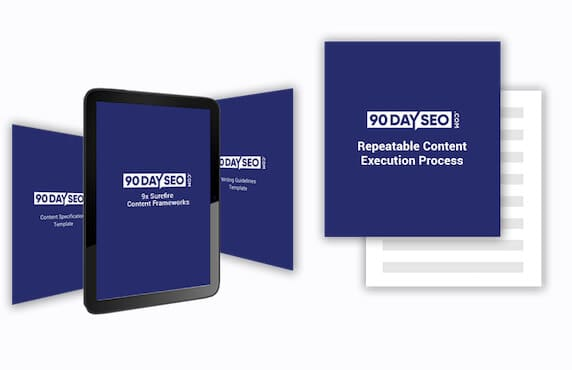 (instant GB) 90 Day SEO: The Step by Step SEO Strategy 30