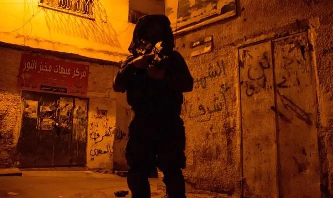 IDF soldier in Jenin