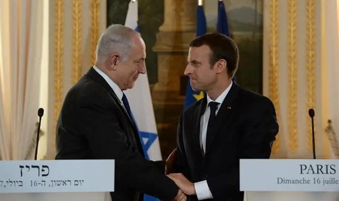 Netanyahu and Macron