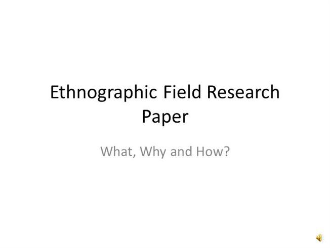 Ethnographic Research AuthorSTREAM
