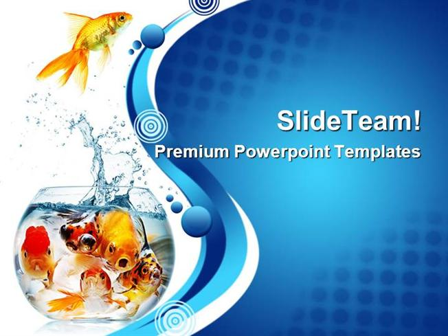 Exelent Fish Powerpoint Template Image Collection - Professional ...