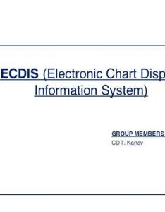 also ecdis electronic chart display information system authorstream rh