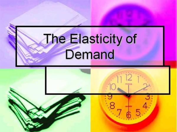 Image result for elasticity of demand
