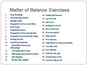 chair exercises for seniors handout 8 table set seniors: balance
