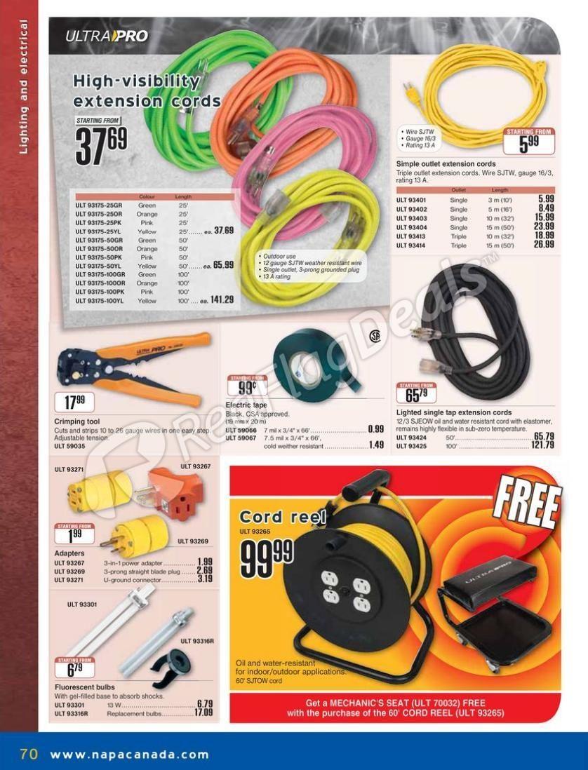 hight resolution of napa auto parts weekly flyer catalogue 2 2013 apr 1 jun 30 redflagdeals com