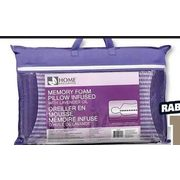 home exclusives memory foam pillow