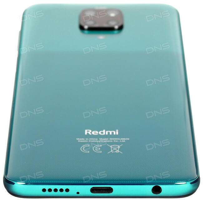 """Купить 6.67"""" Смартфон Xiaomi Redmi Note 9 Pro 128 ГБ зеленый в ..."""
