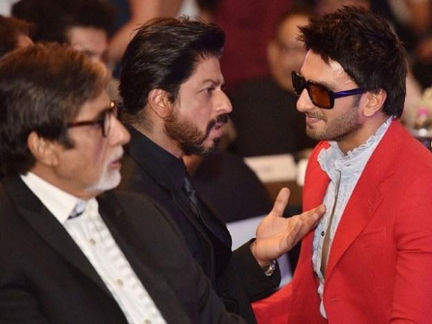 رونا تو ہمیں چاہئے کہ رنویر سنگھ کی انڈسٹری میں آمد کے بعد ہمارا کیا ہوگا، شاہ رخ خان