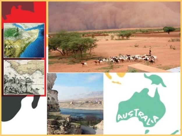 خطے جو جغرافیائی ہیئت اور دیگر عوامل کی بنا پر اپنی الگ پہچان رکھتے ہیں۔ فوٹو: فائل