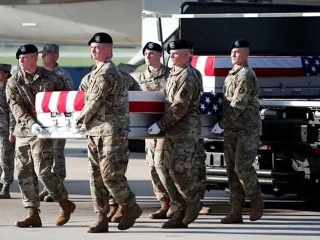 ہلاک ہونے والے امریکی فوج کے اہلکاروں کی شناخت ظاہر نہیں کی گئی ہے۔ فوٹو : فائل