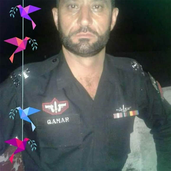 peshawer police constable Qamer
