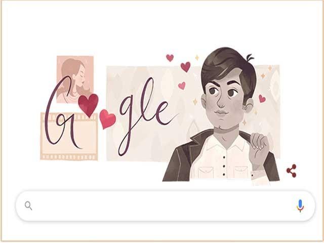چاکلیٹی ہیرووحید مراد کی سالگرہ؛ گوگل ڈوڈل کا خراج تحسین