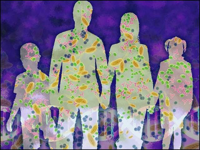 جسمانی جراثیم سے اصل عمر بتانے والا نظام
