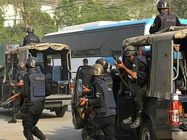 پشاور میں سی ٹی ڈی کی کارروائی، خود کش حملہ آور سمیت 5 دہشت گرد ہلاک