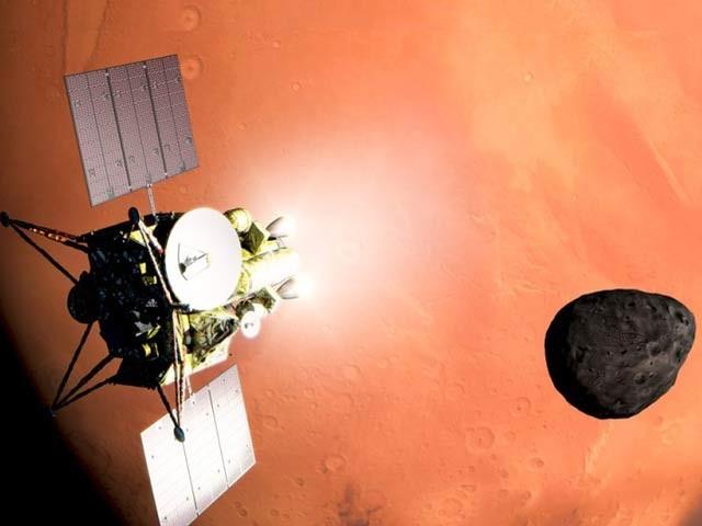 جاپان نے مریخی چاند سے پتھر لانے والے پہلے مشن کا اعلان کردیا