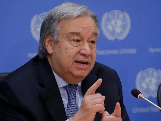 سیکرٹری جنرل اقوام متحدہ کا دنیا بھر میں جنگ بندی کا مطالبہ