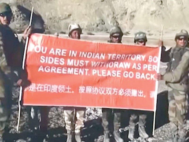 چینی سرحد میں پیش قدمی پر بھارتی فوج کو سبکی، معافی مانگ کر گرفتار فوجی رہا کرائے