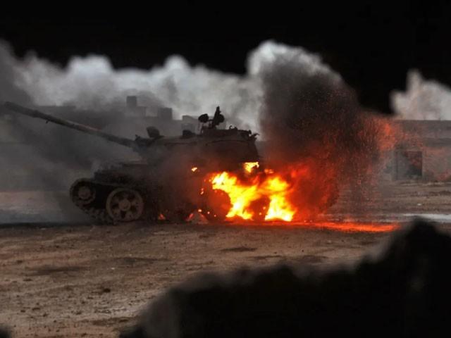 لیبیا میں جنگی طیاروں کی ترک فضائی اڈے پر بمباری
