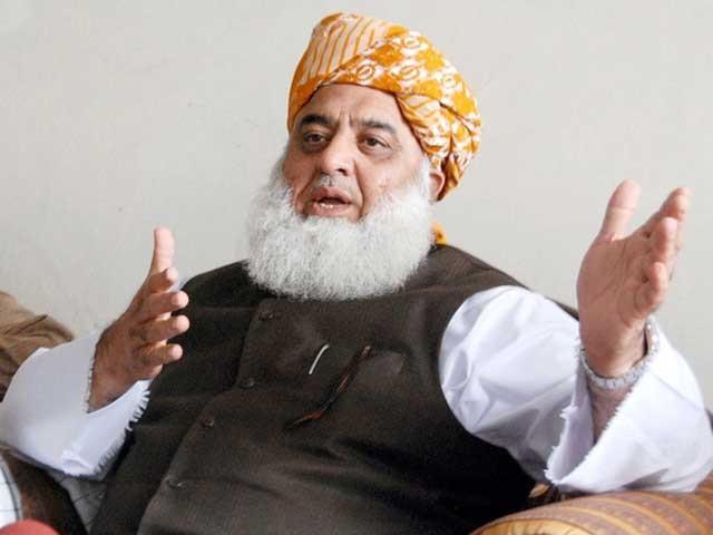 ریاست اور حکومت اب اکٹھے نہیں چل سکتے، مولانا فضل الرحمان