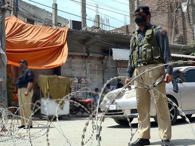 پشاور کے مزید 6 علاقوں میں مائیکرو اسمارٹ لاک ڈاؤن نافذ