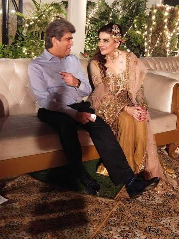 کشمالہ طارق کی اپنی شادی کی تقریب میں ڈانس کرنے کی ویڈیو وائرل