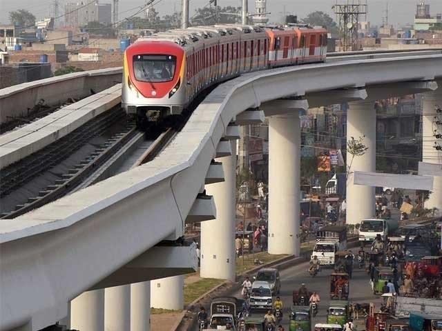 (ن) لیگ نے پی ٹی آئی سے پہلے اورنج لائن میٹرو منصوبے کا افتتاح کردیا
