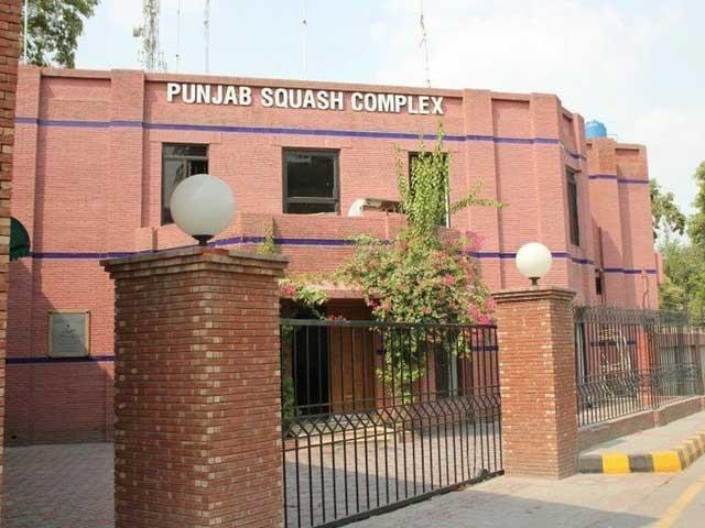 پنجاب اسکواش کمپلیکس کورونا کے باعث بند کردیا گیا