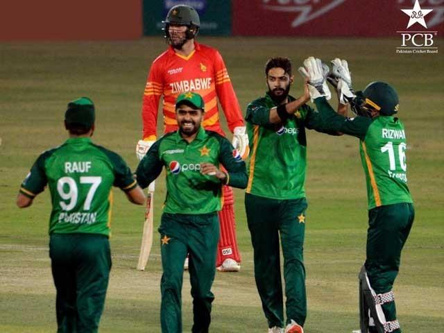 پاکستان نے پہلے ون ڈے میں زمبابوے کو شکست دیدی