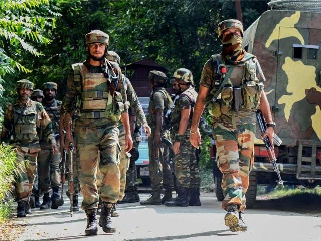 مقبوضہ کشمیر میں بھارتی فوج کی فائرنگ سے 4 کشمیری نوجوان شہید