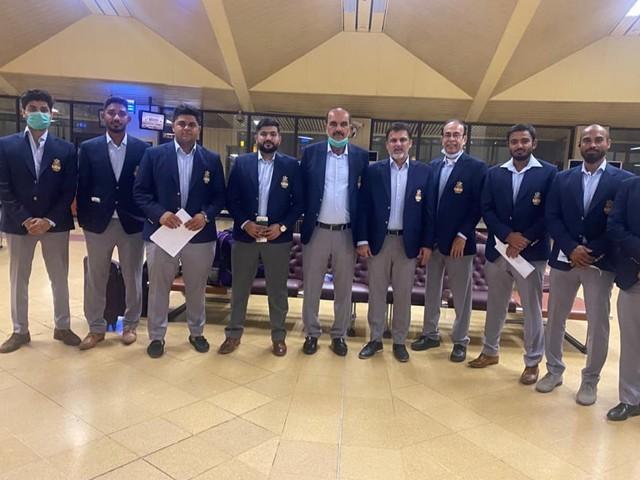 گال گلیڈیئٹرز کے پاکستانی کھلاڑی اور آفیشلز سری لنکا پہنچ گئے