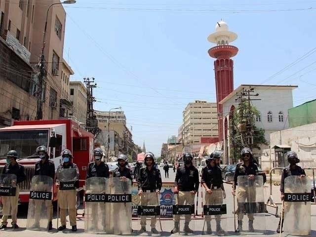 کراچی کے تمام اضلاع میں اسمارٹ اور مائیکرو لاک ڈاؤن کا فیصلہ