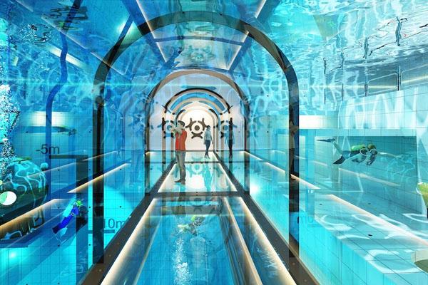 دنیا کا سب سے گہرا تیراکی کا پول 1