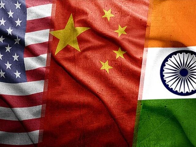 چین سے مقابلے کیلیے امریکا بھارت کومضبوط بنانا چاہتا