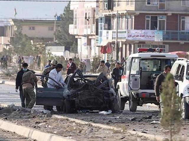 کابل میں تین گاڑیوں کو دھماکوں سے اُڑا دیا گیا، 5 افراد ہلاک