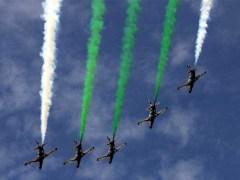 آپریشن سوئفٹ ریٹارٹ؛ اسلام آباد میں پاک فضائیہ کے طیاروں کا فلائی پاسٹ