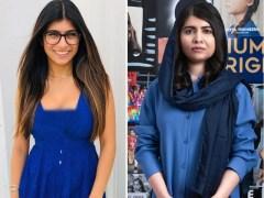 سوشل میڈیا پر ملالہ یوسف زئی اور میاں خلیفہ کے دوستی کے چرچے
