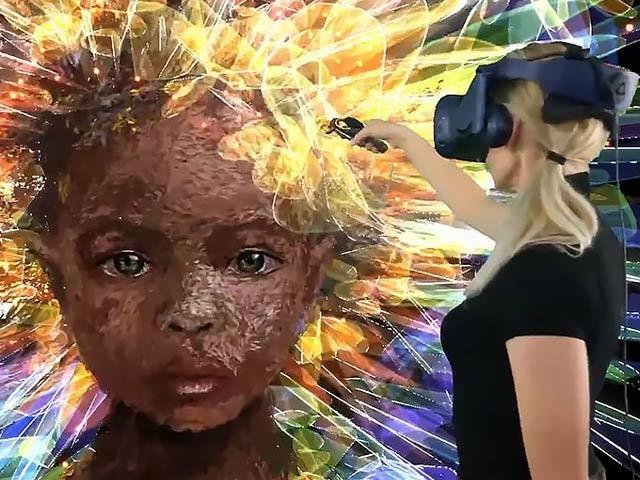 اب مجازی ماحول میں بنے مصوری کے شاہکار دیکھئے